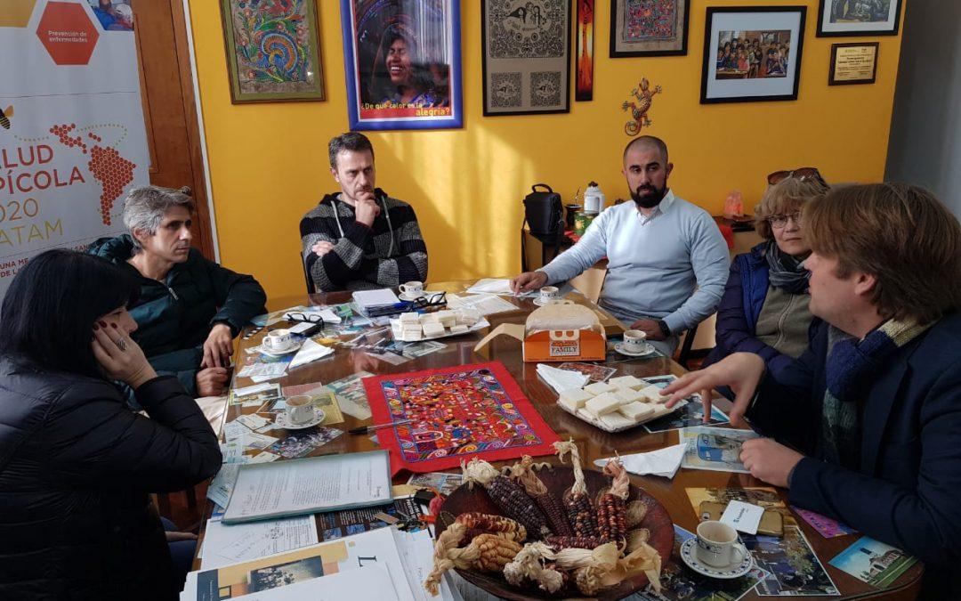 Concluye la etapa de monitoreo de apiarios en Argentina